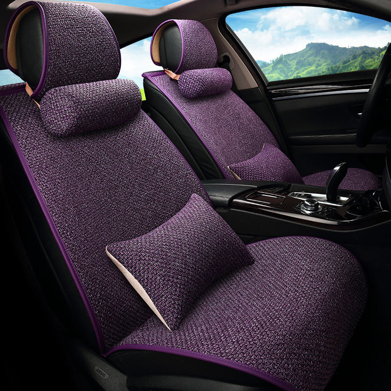 Four Seasons General Motors Travel Seat Cover, Fiber Ma Cushion, Car styling for Audi BMW Ford Toyota and all other cars