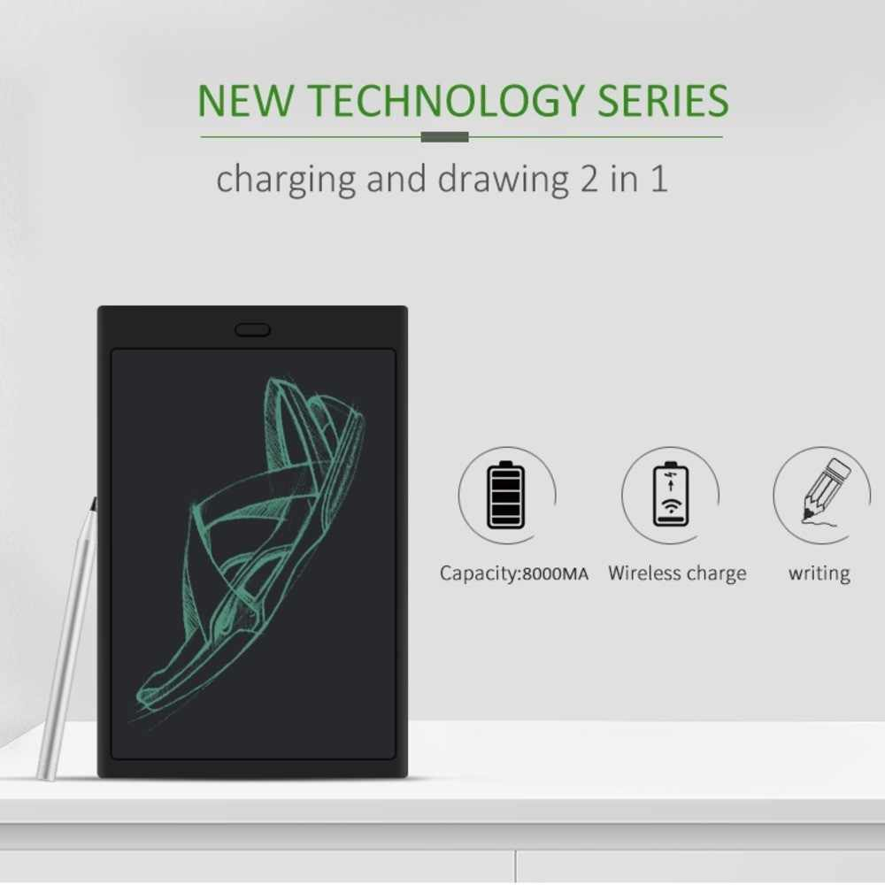 LCD Writing Tablet Electronic Epaper Digital Graphic Board For Drawing 2019 Power Bank Smart Pad Wireless Charge For Smartphone