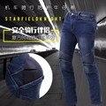 Nuevos pantalones de la venta caliente, el hombre de la motocicleta hombre 2016 el más popular SFK 706 jeans kevlar motociclismo pantalones o