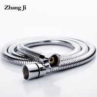 ZhangJi 1.5m 2m tuyau de douche universel maison 2019 offre spéciale tuyau de douche souple couleur argent commun Flexible salle de bain tuyau d'eau