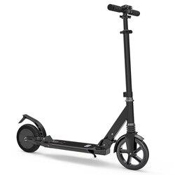 Potente 8IN Scooter Elettrico Pieghevole Pendolarismo Scooter 220LB Capacità Portante bike Scooter per Adulti la velocità Massima è 7.4mph