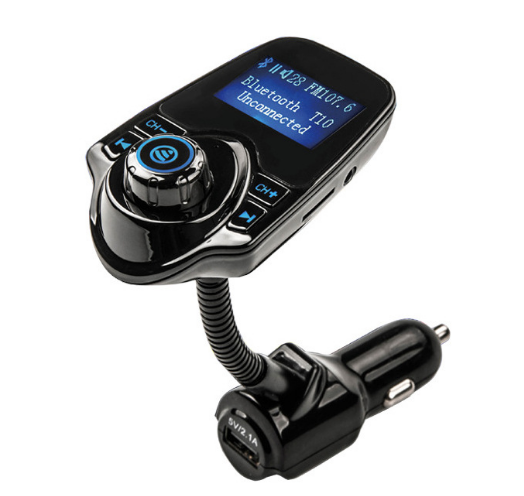 by DHLFedex 50pcs Bluetooth Car Kit Handsfree FM Transmitter Wireless MP3 Music Player Support TF Card,5V 2.1A USB Car Charger