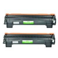 Pack de 2 cartucho de toner Compatible para Hermano TN1000 TN1050 TN1070 TN1075 HL 1110 HL 1110 TN 1000 TN 1050 TN 1075 TN 1075 Cartuchos de tóner     -