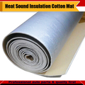 "Fire-Sales Prices ! 20CM x 100CM 8"" x 40"" Aluminum Foil Car Heat Sound Insulation Cotton Material Deadener Mat Free Shipping !"