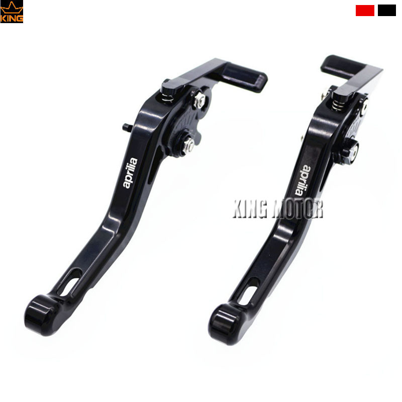 Motorcycle Accessoriess CNC Short Brake Clutch Levers Black For Aprilia DORSODURO 750 2008-14, SHIVER /GT 2007-2014 cnc billet adjustable folding brake clutch levers for aprilia dorsoduro 750 factory shiver gt 750 07 14 08 09 10 11 12 2013