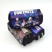 Fortnite and Minecraft Design Kids Pencil Case