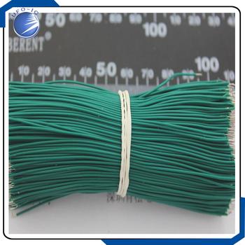 1000 sztuk partia przewody 1000 Aberdeen 100 MM przewody elektroniczne przewody łączące podwójne konserwy zielony tanie i dobre opinie datesheet Izolowane YUFO-IC Free 24Hours