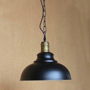IWHD Loft Industrial Vintage Hanging Lamp LED Iron Lamparas Bedroom Retro Hang Lights Home Lighting Bar Luminaire Suspendu