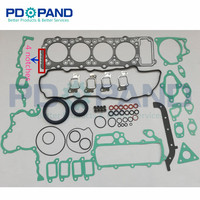 4M40 4M40T 4M40 T Full Set Engine Overhaul Rebuilding gasket Kit ME996729 For Mitsubishi Montero Pajero Shogun Canter 2.8D/TD