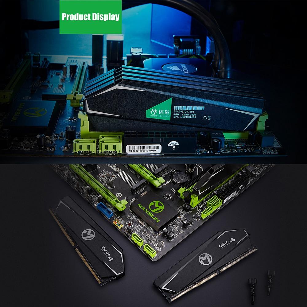 Image 5 - Maxsun ram ddr4 1 gb 2 gb 4gb 8gb 16gb de memoria de 2400MHz a 2666 MHz, 3000 MHz, 1,2 V 288pin garantía de por vida de memoria ram ddr 4 dimm sobremesaMemorias RAM   -