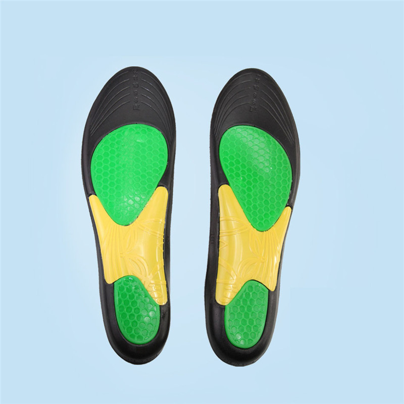 High Quality Basketball Sport Insoles PU Memory Foam Deodorant Soft Breathable Insole Shock Absorption Pad Sport Insole XD-035