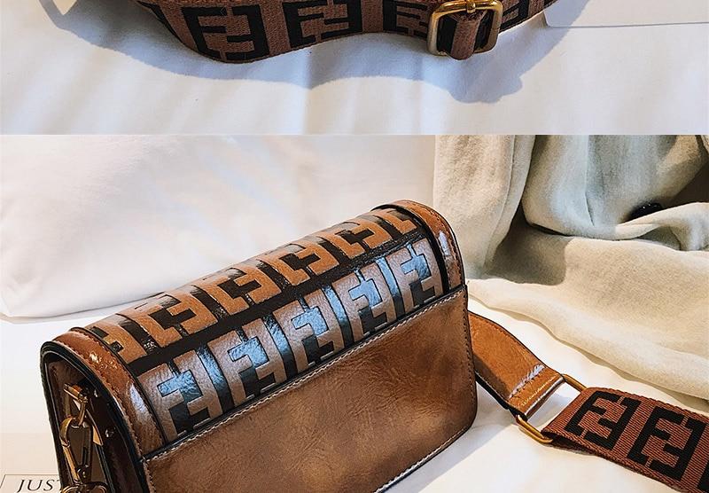 2019 Sac Femme Luxury Handbags Women Bags Designer Leather Crossbody Bag For Women Shoulder Bag Ladies Messenger Bags Letter (15)