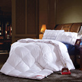 Twin Queen King Size White Duck/Goose Down Winter Quilt Comforter Bedding sets Blanket Duvet Filling With Cotton Cover