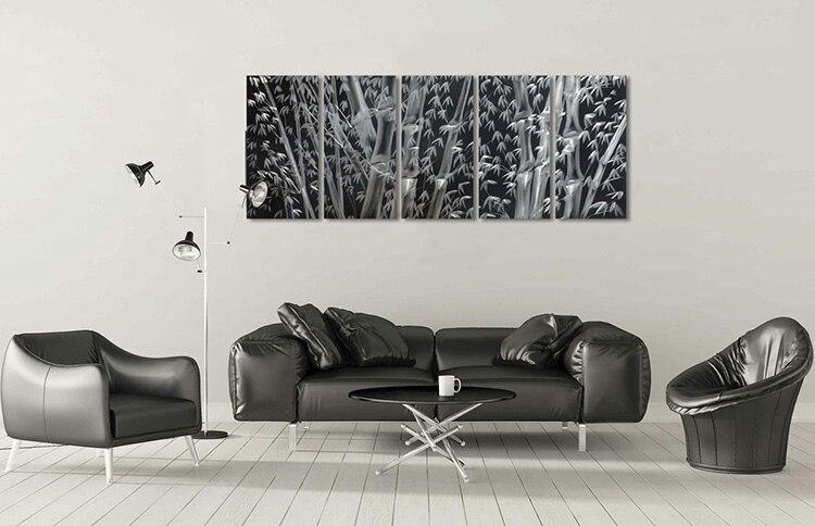 D Origine Artisanat Noir Couleur Décoratif En Aluminium De