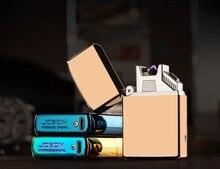 2016 USBชาร์จบุหรี่อิเล็กทรอนิกส์การออกแบบที่ดีเยี่ยมน้ำหนักเบาสำหรับของขวัญUSBไฟฟ้าarcเบา