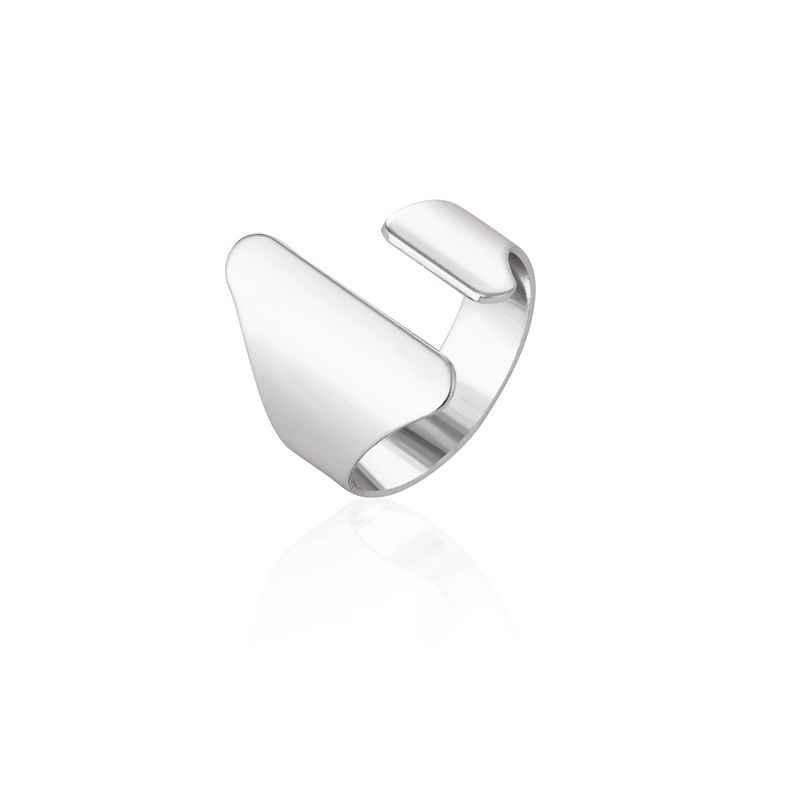 Jisensp винтажные Открытые Кольца для суставов палец Мужские Простые металлические кольца с большой тульей для женщин женское кольцо модный подарок Boho Midi украшения для пальцев
