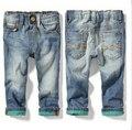 2015 мода весна осень дети ковбойские штаны мальчик хлопок свободного покроя джинсы горячая распродажа джинсовые брюки бесплатная доставка