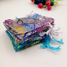 RUIHAOYU 1000pcs/Lot Wholesale Gift Jewelry Pouches Bags Packaging Bag Organza Wedding Christmas &