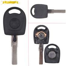Keyecu Замена транспондера брелок с чипом ID44 для VW Sharan Lupo Uncut Бланк лезвия