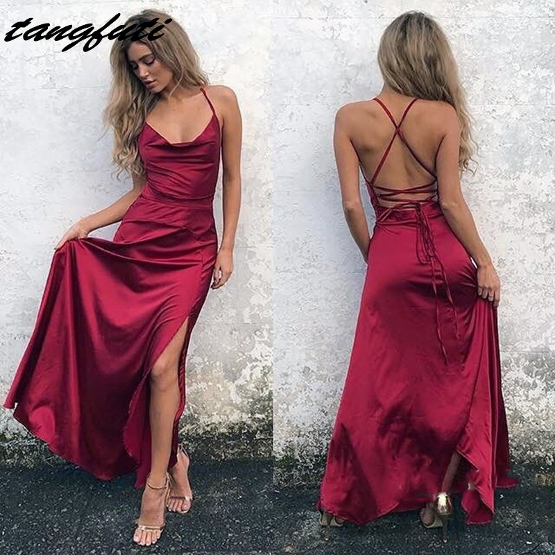 Sexy Prom Dresses Party Long Women Prom Evening Party Dresses for Graduation Gowns Wear On Sale vestidos de formatura