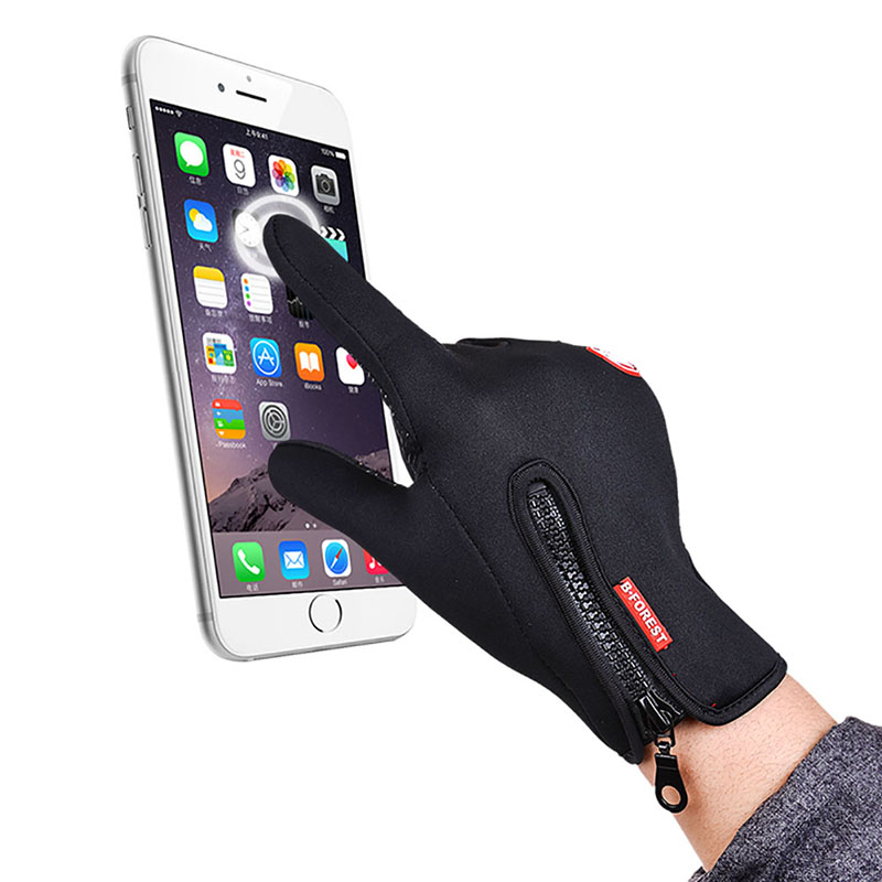 Winter Women and Men font b Gloves b font Touch Screen Windproof Thermal Outdoor font b