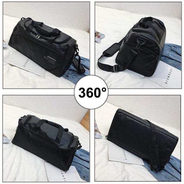 Leather Gym Bag 3