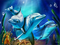 Dolphins Schtrops New Generation Needlework Diamond Embroidery Round Diamond Painting Cross Stitch Crystal Full Diamond Sets