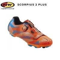 Northwave Scorpius 2 Plus MTB Cycling Shoes SPD SL Vent Carbon NW Lock Shose Mountain Bike