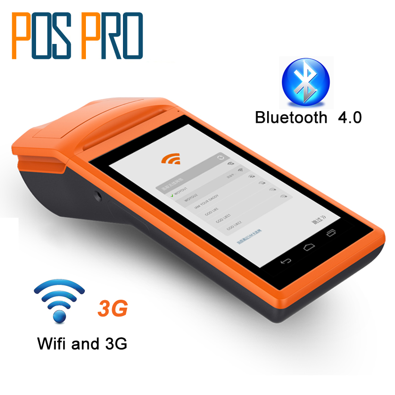 IPDA020 Free SDK Android Mobile Pos Thermal Printer Handheld POS Terminal Wireless Bluetooth barcode Scanner Wifi Android PDA ...