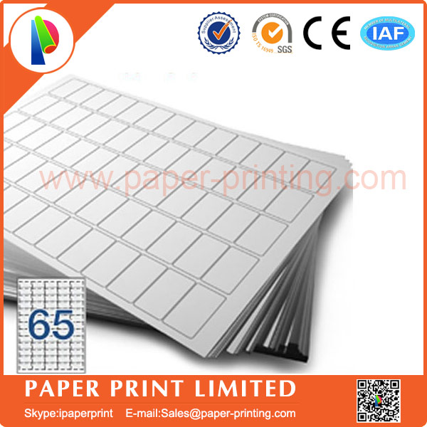 80 Sheets Compatible L7651j8651 Blank Matte White Labelprinting