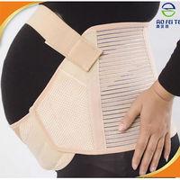Pregnancy Belly Belt Back Support Brace Maternity Support Band Stretchy Bandage for Women Abdominal Support Belt Breathable T005