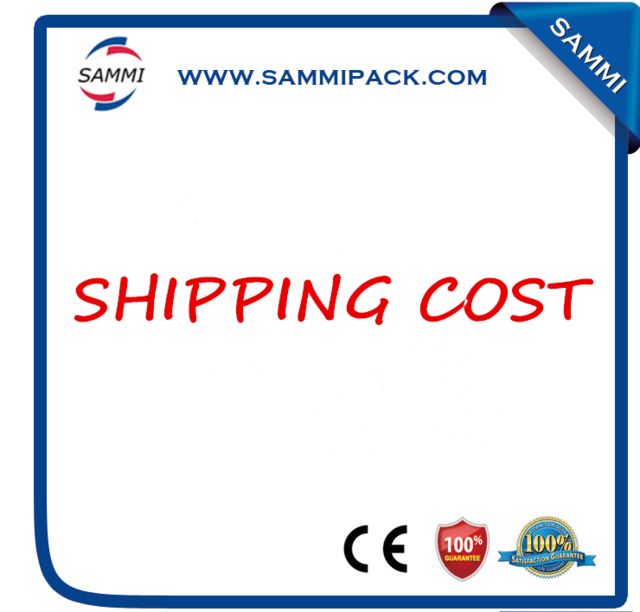 Shipping cost $70 for  oral liquid bottle capping machine extra fee cost just for the balance of your order shipping cost