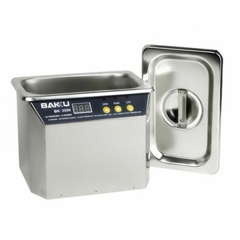 Stainless Steel Ultrasonic Cleaner Ultrasonic Cleaning Machine Jewelry/Dental/Prosthesis/Watches/Phone/Glasses Cleaner BAKU 3550