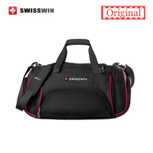 Swisswin Travel Bag Male Large Capacity Lightweight Travel Messenger Shoulder Bag Women Big Portable Duffel Bag Carry-on Bag