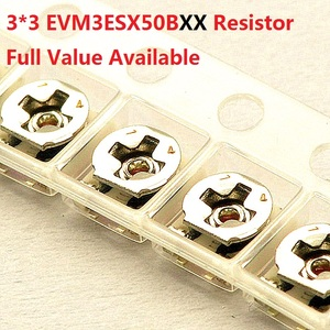 20PC variable resistor 3*3mm SMD10K/1K/20K/50K/100K/3K/5K/2K adjustable trimmer potentiometer EVM3ESX50B14/13/24/54/15/33/23/53