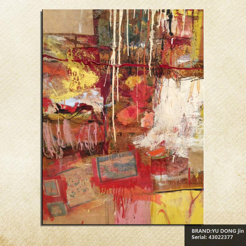 Us 8 65 46 Off Robert Rauschenberg Still Life Abstract Oil Painting Drawing Art Spray Unframed Canvas Wire Airbrush Airbrush Figure43022377 In