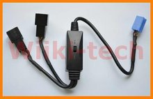 Car MP3/CDC Interruptor Cable Para VW Audi Skoda Asiento ISO 8Pin con cambiador de CD, Y-VW8P