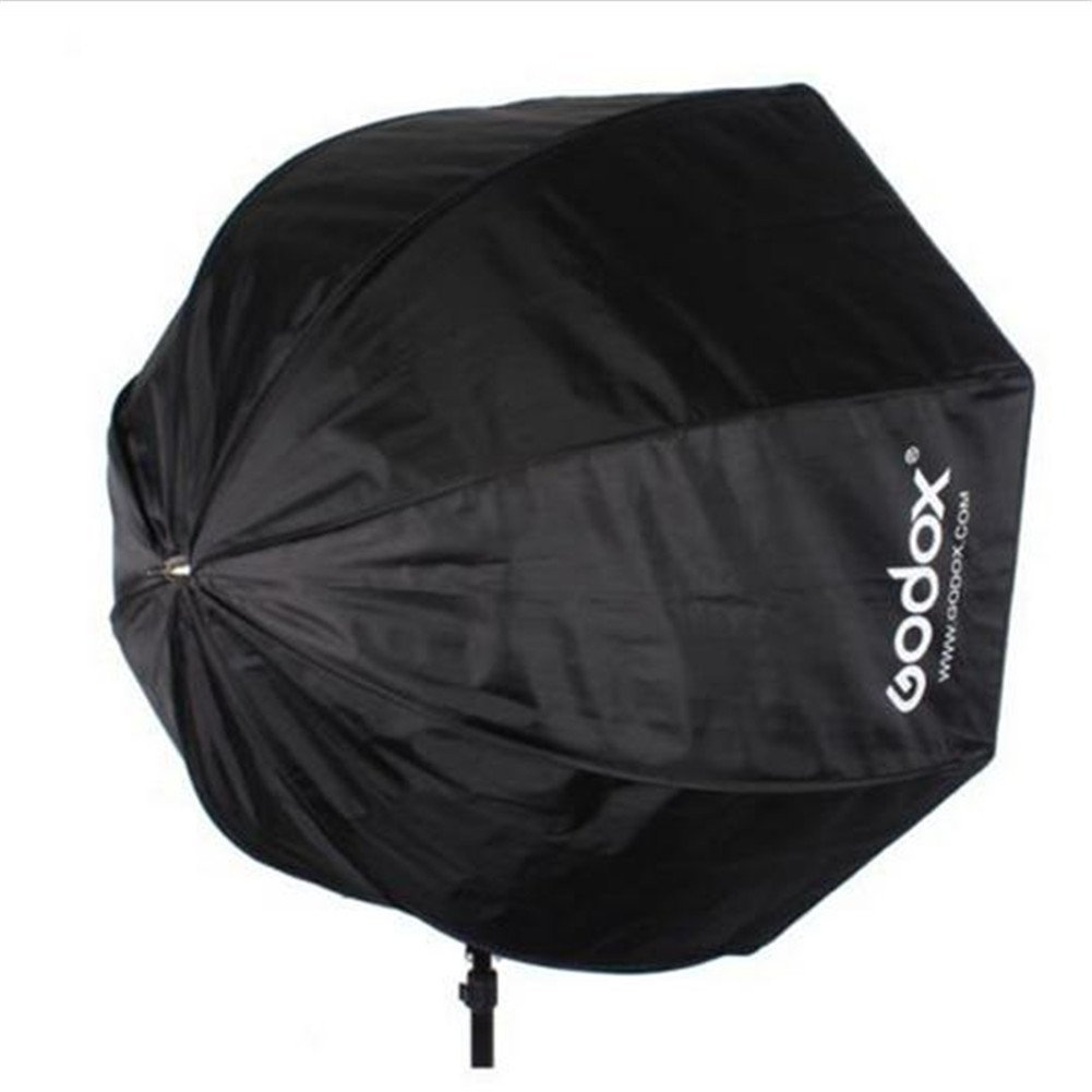 Umbrella Into Softbox: Godox Portable Octagon Softbox 80cm 31.5inch Umbrella