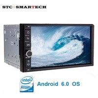 SMARTECH 2 Din 7 Inch Car Radio Multimedia Player Intel Quad Core Android 5 1 1