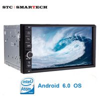 SMARTECH 2 Din 7 Inch Car Radio Multimedia Player Intel Quad Core Android 5 1 1