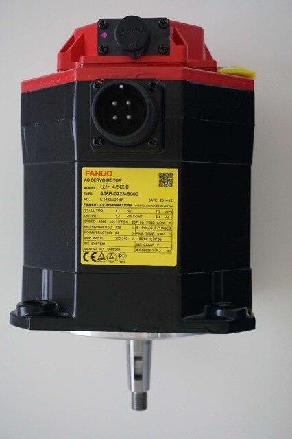 FANUC used CNC parts Alpha iF AC servo motor 12/3000 A06B