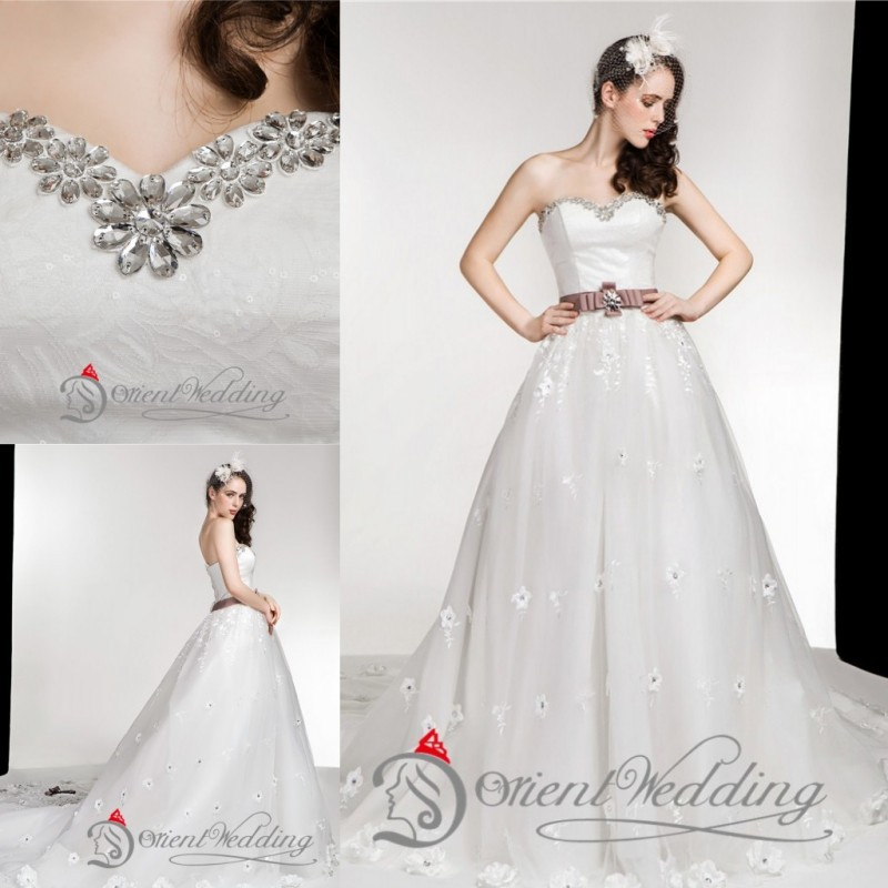 Plus Size Country Wedding Dresses: Sparkly Bling Crystal Lace Up Custom Made Plus Size