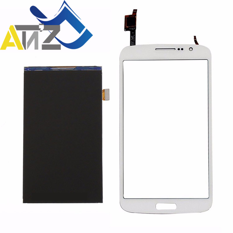 2 An'Z Para Samsung Galaxy Grande Toque De Vidro OEM SM-G7102 G7105 G7108/V Monitor lcd Screen display Digitador pantalla duos sensor