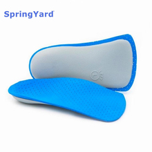SpringYard Nylon+EVA Orthopedic Insoles Flat Feet Arch Support Half Shoe Pad Breathable Stable for Men Women Foot Care