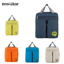 Insular Waterproof Cotton Travel Backpack Mummy Maternity Nappy Bag Multi-function Large Capacity Diaper Bag For Baby Stroller shou multi functional 102404 large travel backpack stroller bag preppy style multi baby nappy large trav backpacks