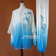 Tai chi clothing Martial arts suit kungfu uniform taiji clothes performance exercise embroidery for men women children boy girl