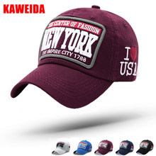 03dbe5776d62f 2018 Casquette New York Letters Bone NY Baseball Caps Chicago Cubs Men Golf  Trucker Hat Women