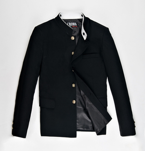 Image 3 - Di Trasporto del Nuovo Giapponese anziano medio scuola uniforme Suzura degli uomini di sesso maschile giacca sportiva sottile tunica cinese giacca top Coreano cappotto