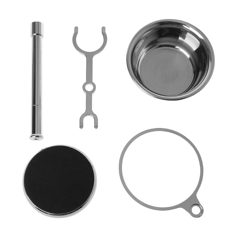 1 Set 2in1 Shaving Makeup kit Stand Shaver Bowl Razor Beard Clean Mug Shaver Holder Kits High Quality