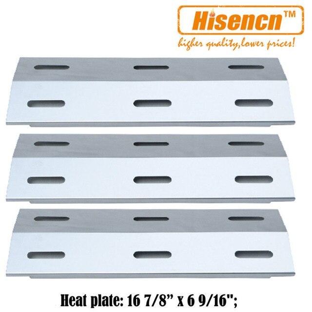Hisencn 99341 3pcs/pk Gas Grill Heat Tent Parts Porcelain Steel Heat Plate Replacement For  sc 1 st  AliExpress.com & Hisencn 99341 3pcs/pk Gas Grill Heat Tent Parts Porcelain Steel ...